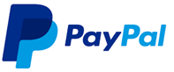 A logo of PayPal