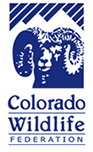 A logo of Colorado Wildlife Federation