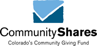 A logo of CommunityShares